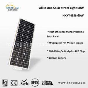 Встроенный датчик Сад привело солнечной уличных фонарей 60W-110W