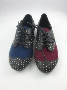 Nuevo estilo de vestido de mujer zapatos planos (HCY03-136)
