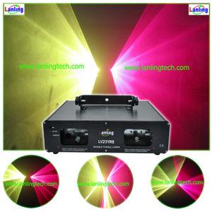 Двойной туннеля DJ оборудование лазерный свет