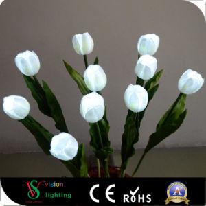 LEIDENE van de Tulp van de simulatie de Witte Lichten van de Bloem