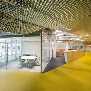 L'extérieur décoratifs en aluminium perforé Panneaux de plafond découpé au laser
