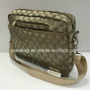 Laptop Notedbook tragen Beutel-Form-Multifunktionsweinlese-Handtaschen-Aktenkoffer (GB#40010)