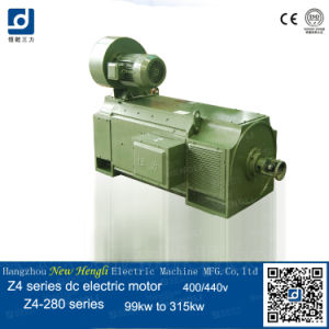 La serie Z4 DC la brida de ventilador de 400V 105kw Motor Eléctrico