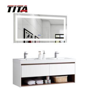 Branco brilhante mobiliário banho MDF T9332