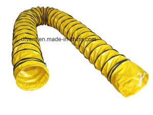 300mm ventilação resistente ao fogo o tubo flexível