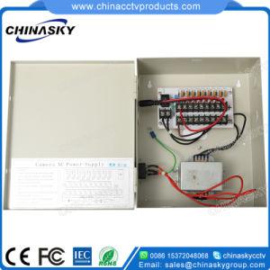 CCTV (24VAC2.5A9P)를 위한 9CH 24V 교류 전원 공급 배급 상자