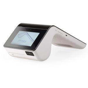 Handgaststätte Positions-Kreditkarte-Terminal mit Druckerabtastung