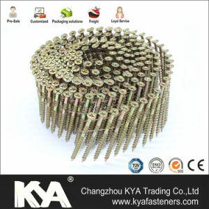Screw van Philip Head Wire Collated voor Furnituring, Industrie van het zink Pneumatische