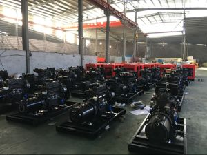 Weifang Ricardo Dieselmotor-beweglicher leiser Generator-Dieselenergie Genset 50kw