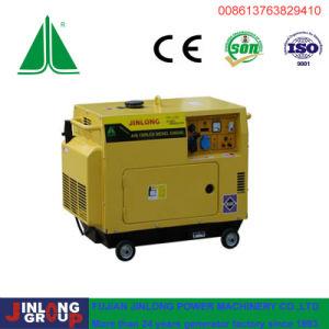 6 КВА переносного типа с водяным охлаждением воздуха дизельный генератор для домашнего использования