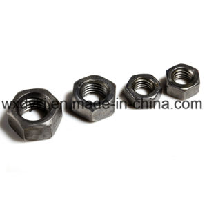DIN 934 Catégorie 8.8 tête hexagonale en acier au carbone l'écrou hexagonal