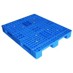 1200X1000 Serviço Pesado China única face em rack padrão de HDPE Euro palete de plástico