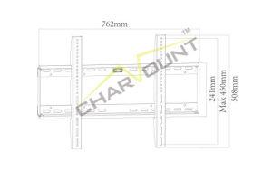 도매 600X400mm 최신 판매 LCD 텔레비젼 선반 벽 마운트 (CT-PLB-221)