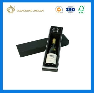Бутылка шампанского бумаги подарочные коробки со штампом Разрежьте вставку (бутылка вина упаковке)