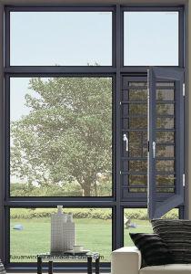 El mejor precio nuevo diseño personalizado utiliza imágenes de salto térmico de Casement Ventana de aluminio y puerta.