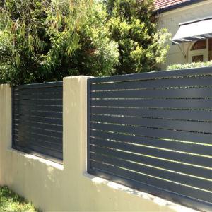 La Chine Pre-Fabricated Aluminium Aluminium de clôture de la latte de clôture de la clôture de la Chine en aluminium