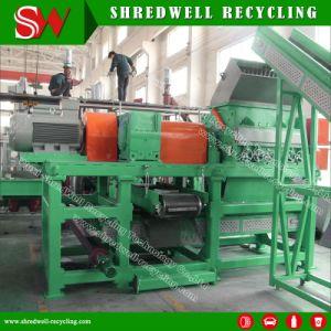 낭비에서 강철 또는 작은 조각 또는 사용된 타이어 제거를 위한 기계를 재생하는 타이어