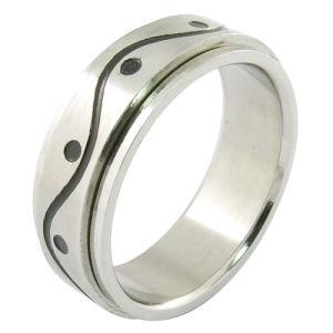 0626c4348949 Joyas de acero inoxidable Hombres Gay Ring anillo chapado en oro ...