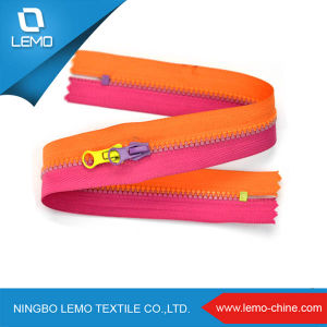 Plastic Derlin Zipper Resin Zipper의 모든 Size 전부 Length 전부 Types