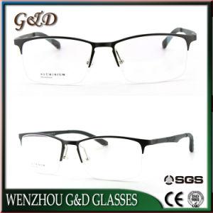 Het nieuwe Frame Eyewear van het Aluminium van de Manier van het Ontwerp van de Fabriek In het groot Optische