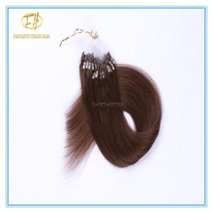 Kundenspezifische Farben-Qualitäts-Doppeltes gezeichnete Mikroring-Extensions-Haare mit Fabrik-Preis Ex-025