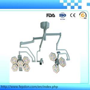 Shadowless LED de luz de trabajo con la cámara de TV (SY02-LED5+5-TV)