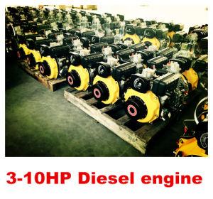 3-10HP kleine Dieselmotor Portbale voor de Hete Verkoop van het Gebruik van de Boot!