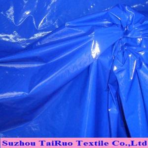 Taffeta de nylon com acabamento Cired Óleo para tecido Downjacket