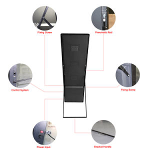 P3 signalisation à LED de miroir de la publicité /shop Poster affichage LED
