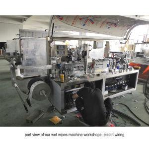 La Junta lateral automático de 4 de tejido húmedo resistencia en húmedo de la línea de embalaje la máquina de papel