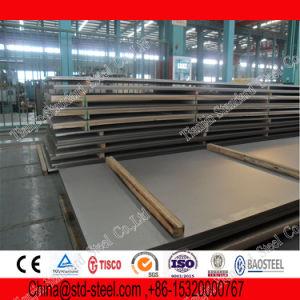 Plaque en acier inoxydable (1.4310 1.4318 1.4319)
