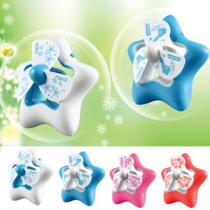 Ventilatore da tavolo ricaricabile delle stelle di stile cinque del fumetto mini