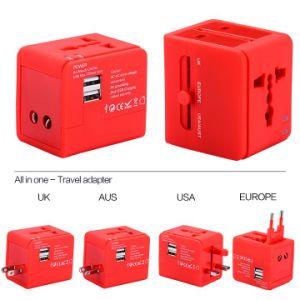 Nueva Au/US/UK/UE Plug Plug Cargador de viaje para todo el mundo utilizan