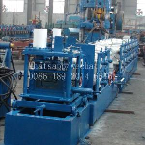 Le métal en acier de coupe hydraulique Z panne machine à profiler