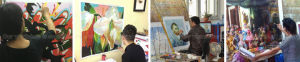 Wall DecorのためのMasterpiece Monet Oil Paintingの再生
