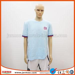 速い乾燥したポリエステル印刷のポロシャツ