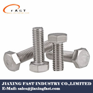 Grifo de acero inoxidable tornillos hexagonales de acero inoxidable; Toca los pernos, A2/A4