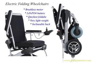 Trono de cadeira de rodas Eléctrica Scootor deficientes, Mobilidade Scootor
