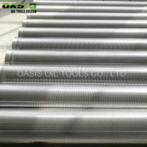 Draht-Wasser-Quellfilter-Gehäuse-Rohr-Gebrauch der Oase-V für Wasser-/Ölbohrung