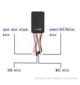 Banheira de venda de veículo GPS Tracker com Alarme de Porta Aberta T100