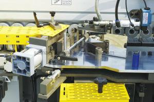 木工業の前に製粉および角のトリムが付いている自動端のバンディング機械