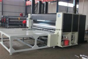 Flexo Printer Slotter semiautomático de cartón corrugado que hace la máquina