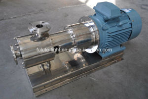 Dell'acciaio inossidabile alta pompa dell'emulsione delle cesoie in linea