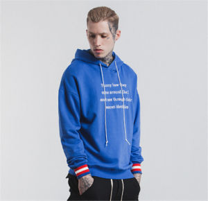 주문 인쇄 로고를 가진 OEM 남자의 스웨터 Hoodies