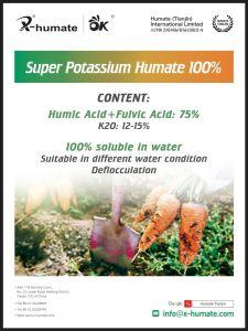 Het In water oplosbare Zure Poeder Fulvic van 100%