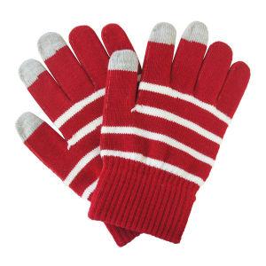 Fashion Stripe Knitted Warm女性タッチ画面の魔法の手袋(YKY5464)