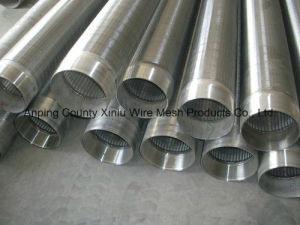 Tube de filtrage de fil de filtre en coin pour purifier l'eau (XL-AF582)