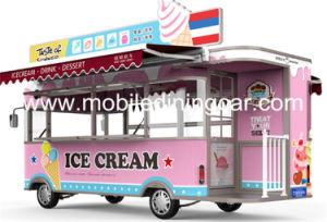 Camion alimentaire personnalisé avec superbe design et logo pour la vente