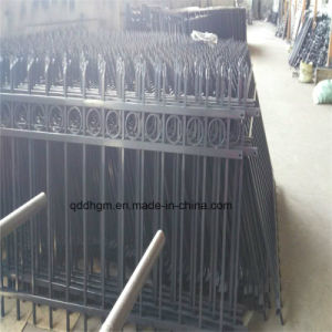 卸し売りレールフェンス、工場価格を囲う鉄の金属