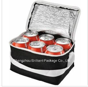6 boîtes de conserve seul sac isotherme de l'épaule du refroidisseur